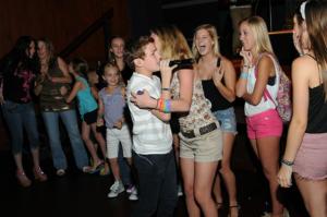 Alex B. with Fans
