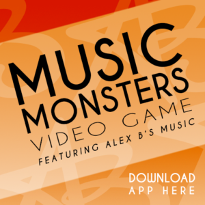 Alex B. Music Monsters Video Game