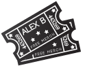 Alex B. Tickets for Events