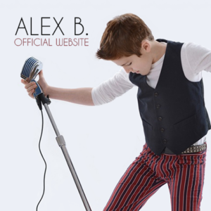 Alex B. Offical Website Mobile