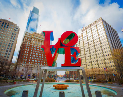 Alex B. philadelphia love park - aaron couture