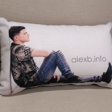 Alex B. PILLOW-back